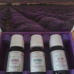 New Sealed Young Living 10ml Kit 3 Oils